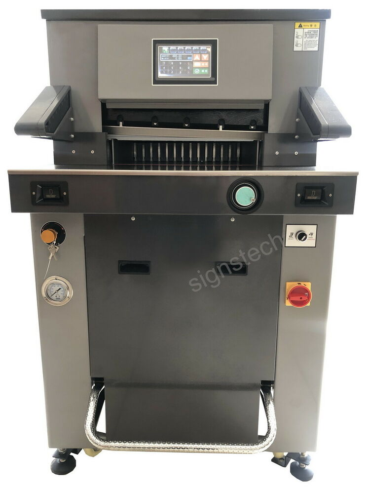 hydraulic paper cutter machine