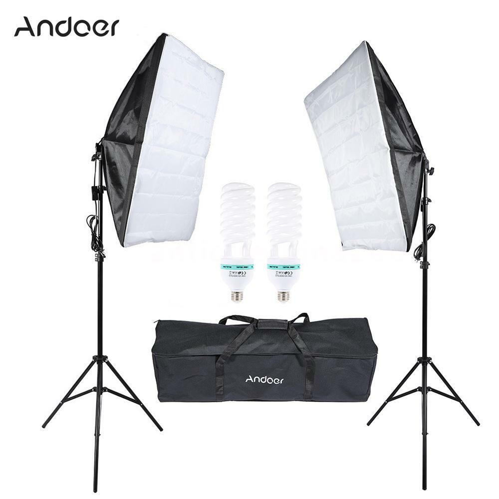 Optex Photo Studio Lighting Kit Review: Photo Studio Continuous Photo Video Light Softbox Lighting
