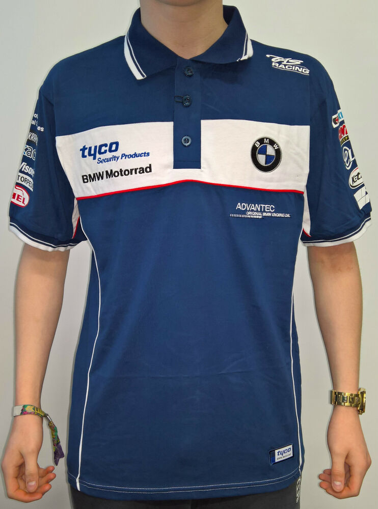 official 2016 tyco bmw motorrad tas racing bsb polo shirt. Black Bedroom Furniture Sets. Home Design Ideas