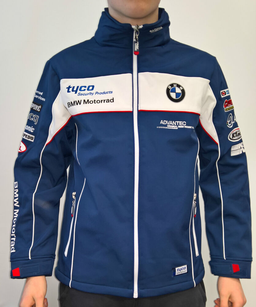 official 2016 tyco bmw motorrad tas racing bsb soft shell. Black Bedroom Furniture Sets. Home Design Ideas