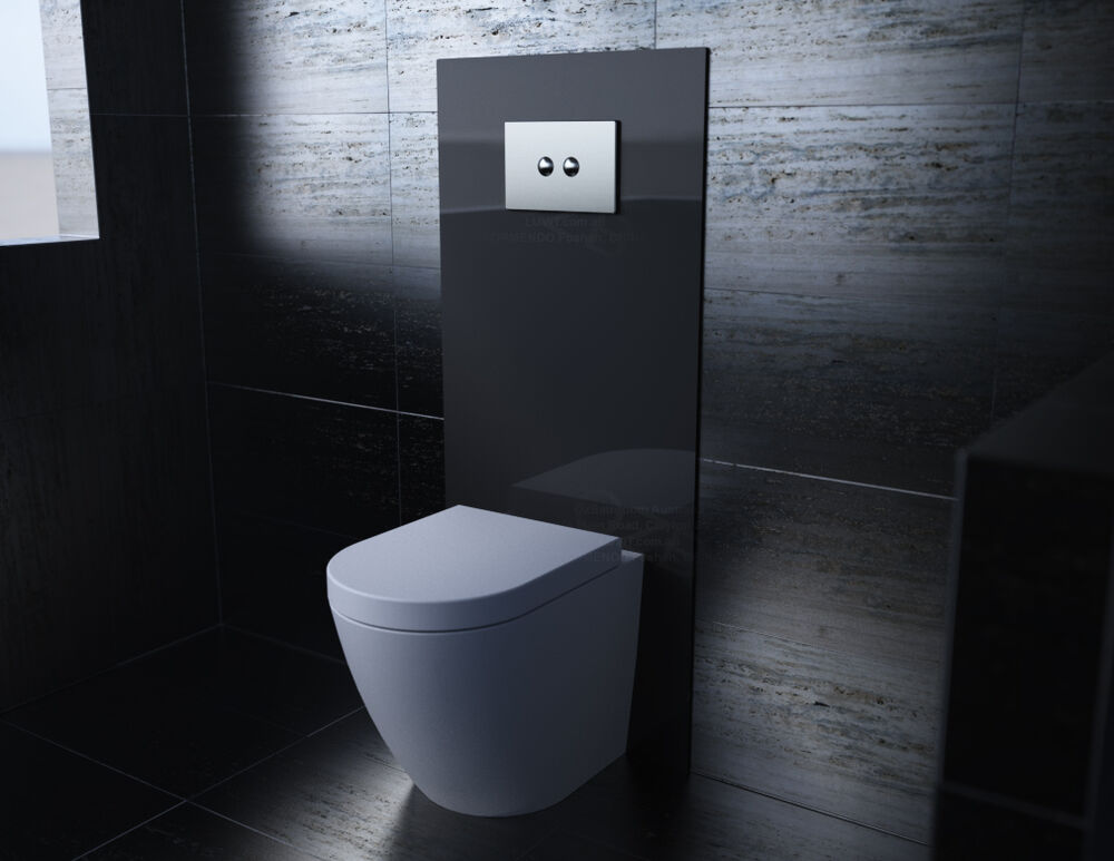 Concealed Cistern Recessed In Wall Wels Toilet Toughened