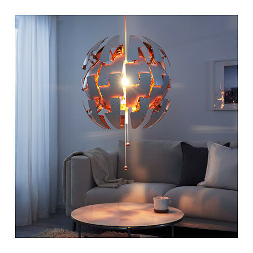 Ikea Ps 2014 Pendant Lamp Like The Death Star White Silver