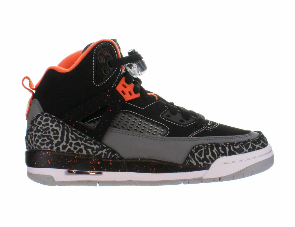 newest 4c0c7 a5529 Details about 317321-080 Nike Air Jordan Spizike (GS) Black Electric Orange  Sizes 5-7 NIB