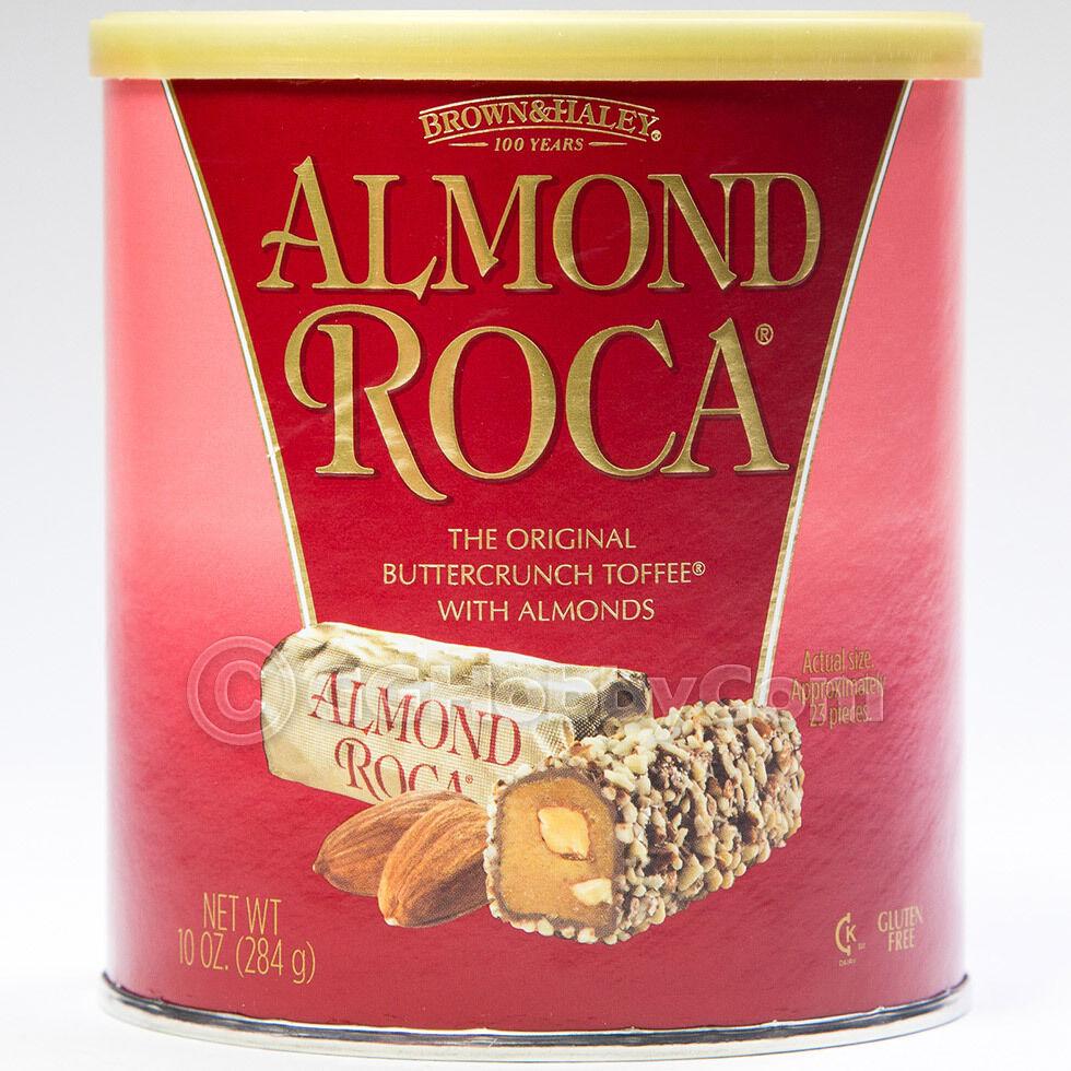 Brown and Haley Almond Roca Buttercrunch Toffee Chocolate ...