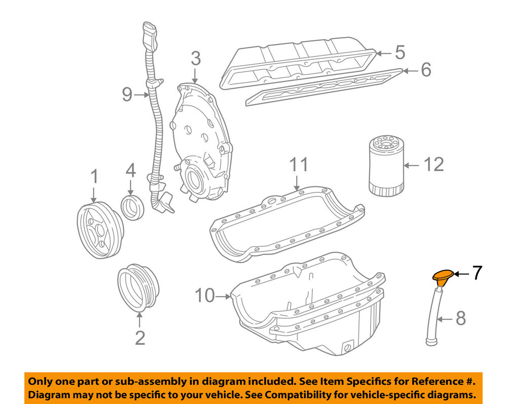 gm oem engine-oil fluid dipstick 12558171 | ebay engine fluids diagram international dt466 engine oil diagram