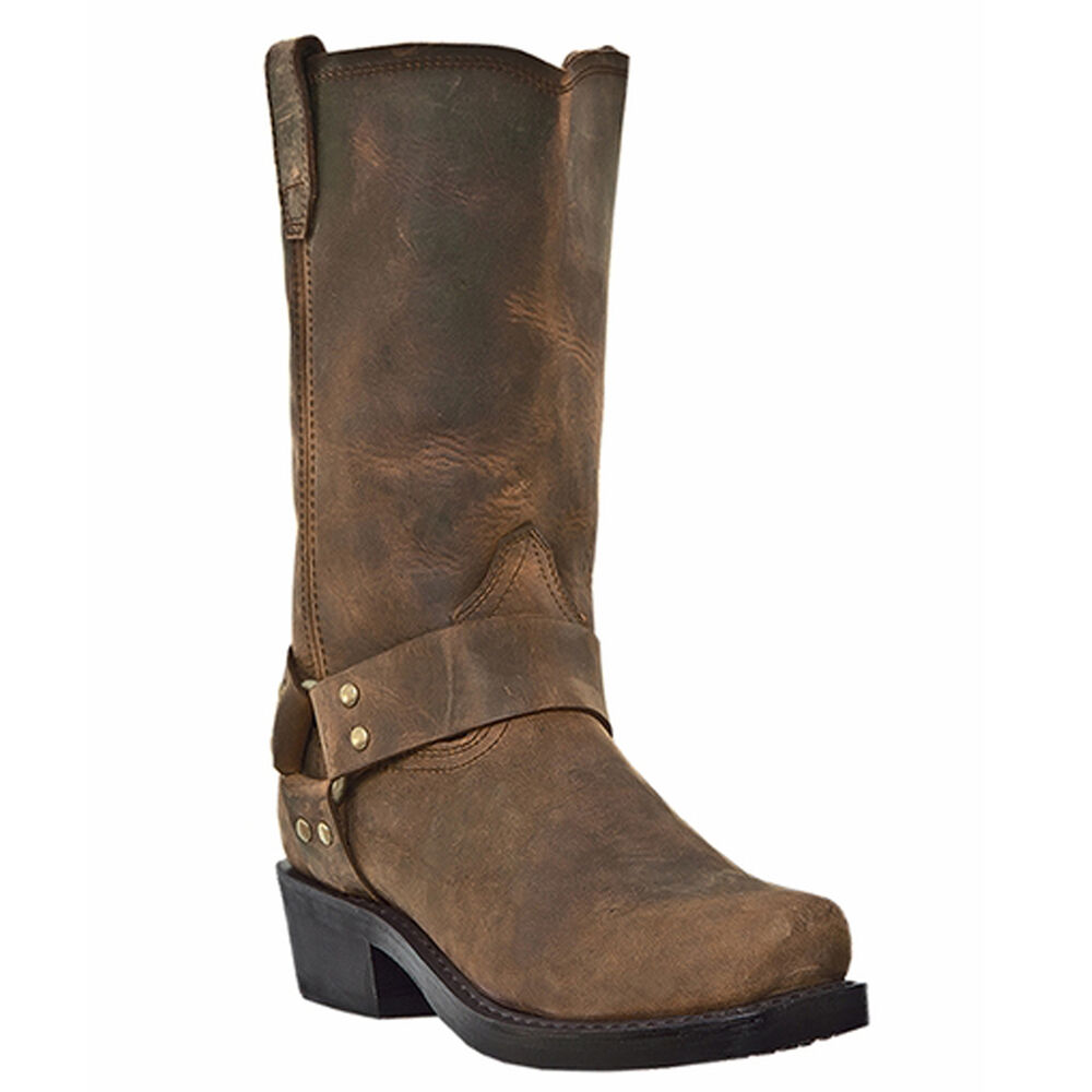 dingo s brown motorcycle boots di19076 ebay
