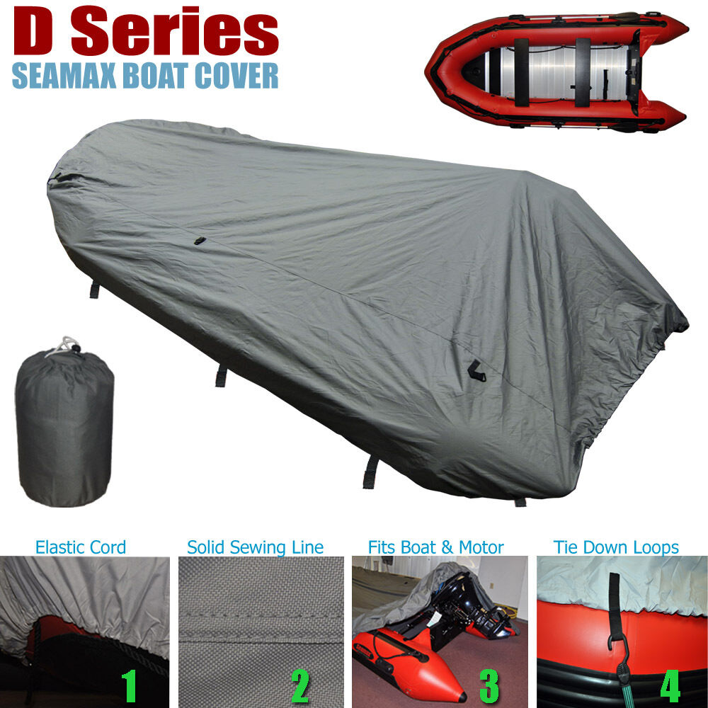 Seamax Inflatable Boat Cover D Series For Beam 5 8 6 4ft