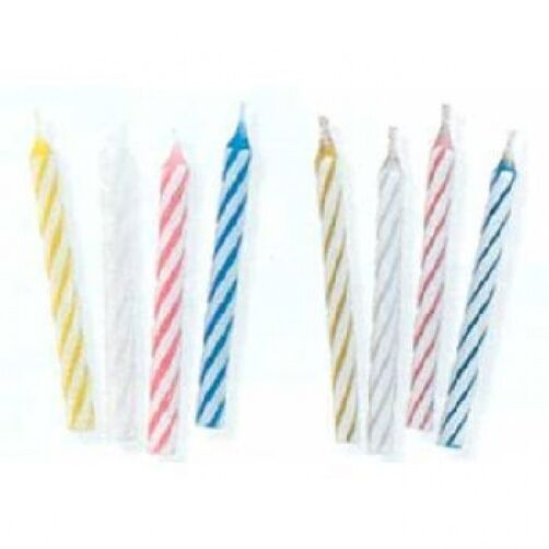 Details About 24 Birthday Cake Candles Assorted Colours Special Offer Free Uk P 21st 18th