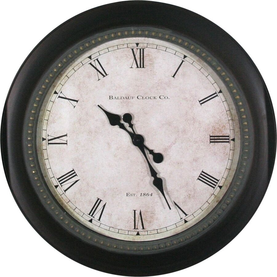 classic round wall clock large clocks traditional living room ebay