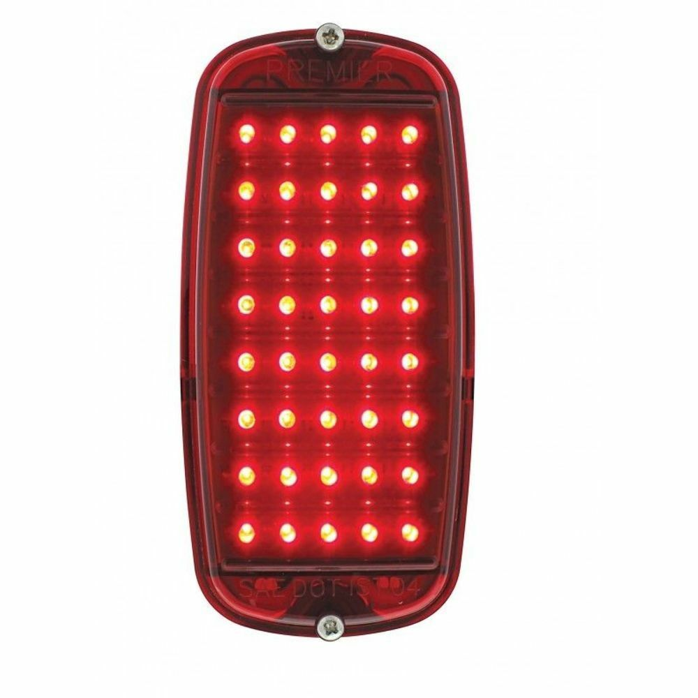 1960 66 Chevy Pickup Fleetside Tail Light Assembly Red