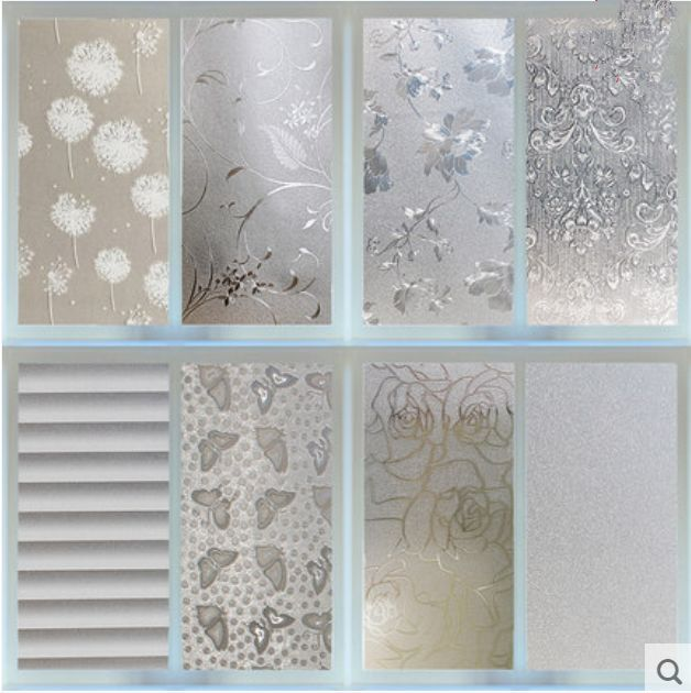 45cmx2m Pvc Frosted Privacy Frost Bedroom Bathroom Glass Window Film Sticker Ebay
