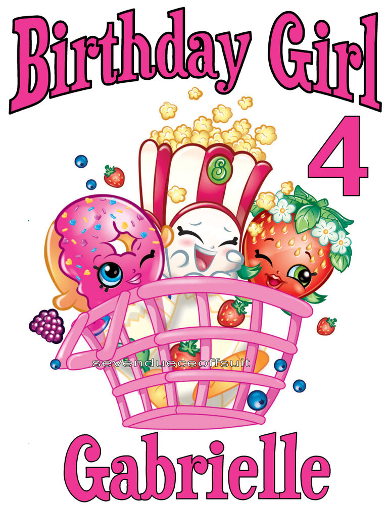 This is a picture of Revered Shopkins Birthday Images