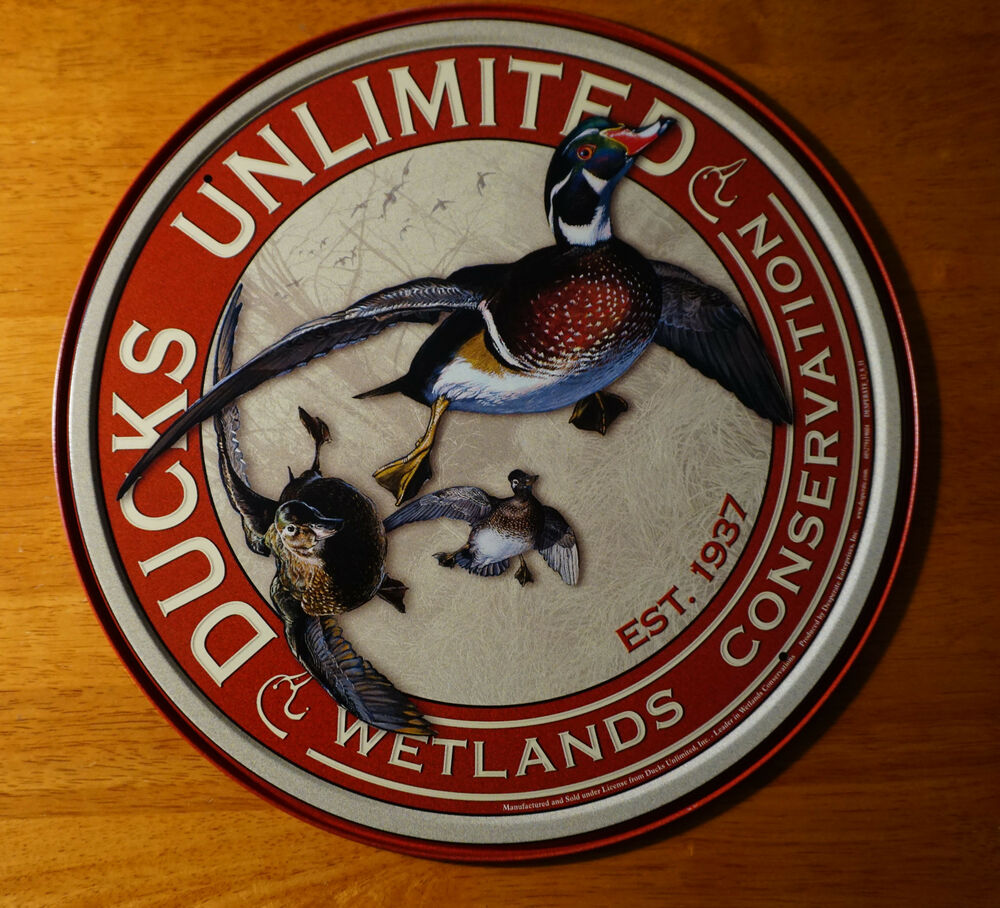 DUCKS UNLIMITED WETLANDS CONVERSATION Hunting Lodge Cabin ...