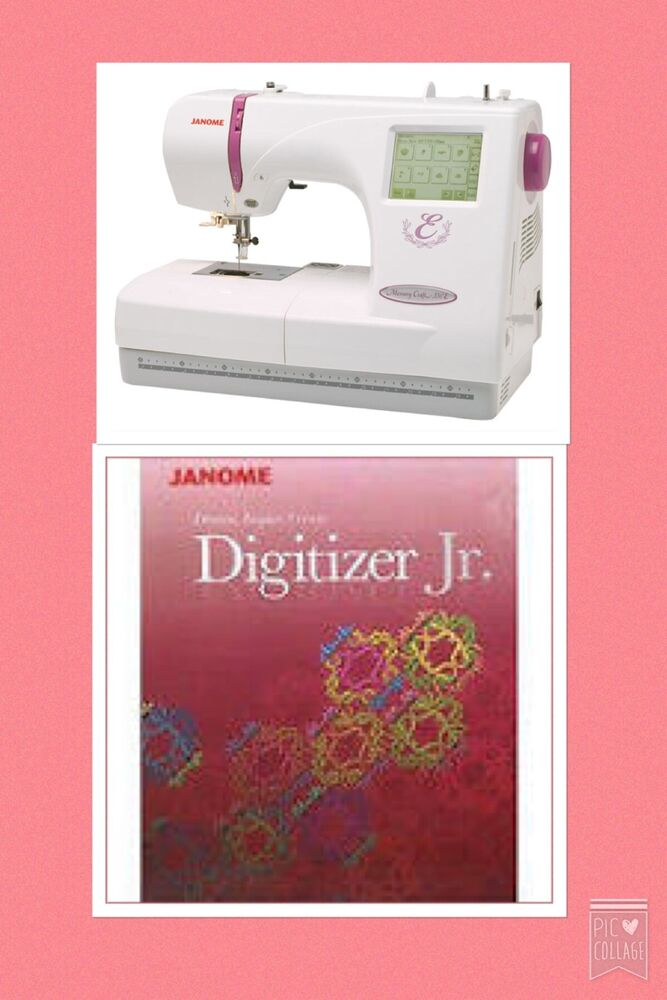 Janome Memory Craft  Embroidery Cards