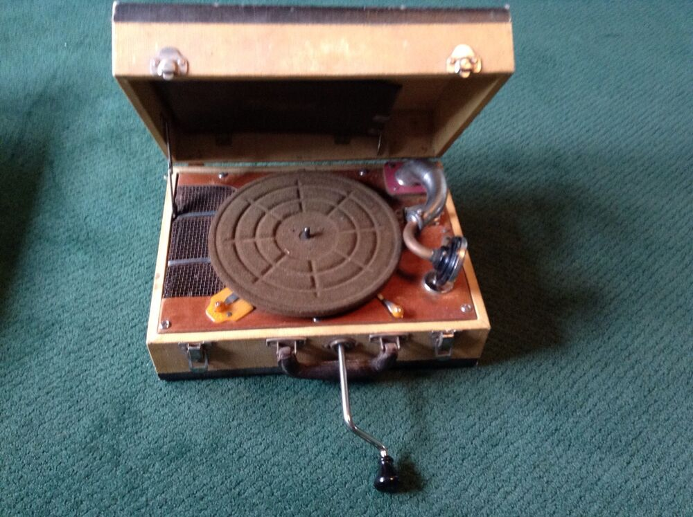 the portable phonograph Find great deals on ebay for vintage portable gramophone and vintage portable phonograph shop with confidence.