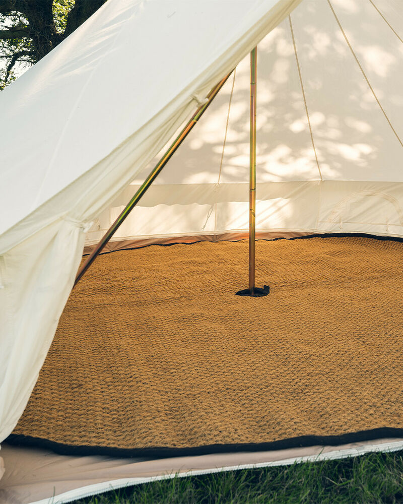 Bell Tent Coir Matting Bell Tent 4 And 5m Glamping Camping
