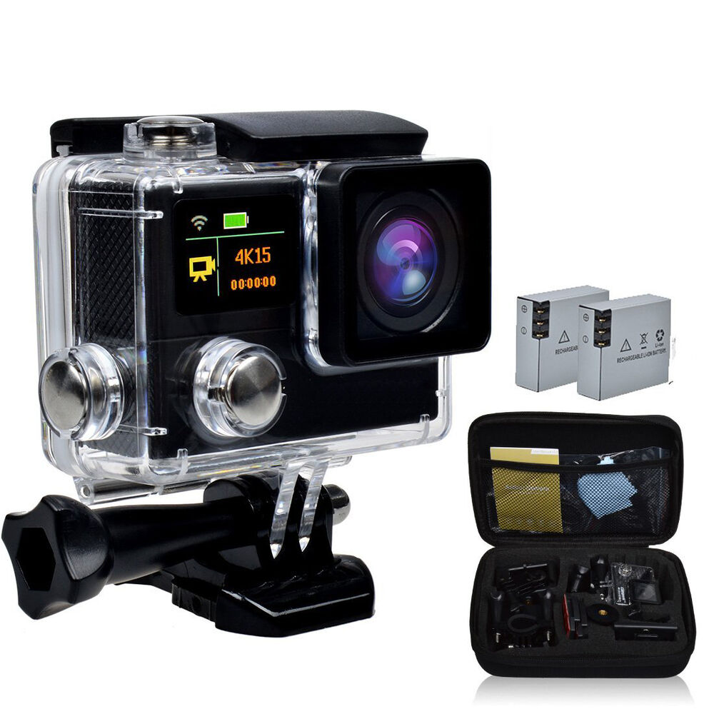 4k wifi ultra hd waterproof sports action camera cam dv. Black Bedroom Furniture Sets. Home Design Ideas