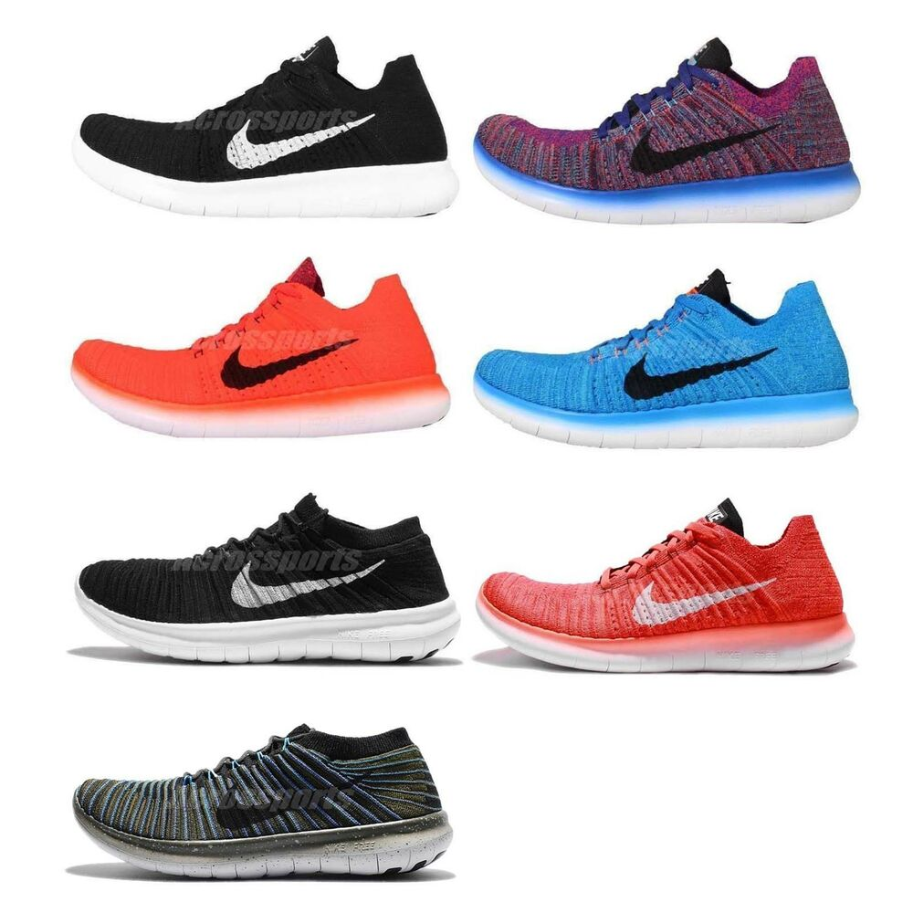 Nike Free RN Flyknit 4.0 Free Run Mens Running Shoes ...