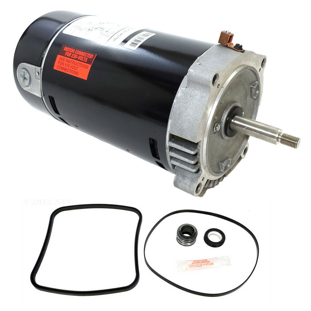 Hayward super pump 1 5 hp sp2610x15 pool motor replace kit for 1 2 hp pool motor