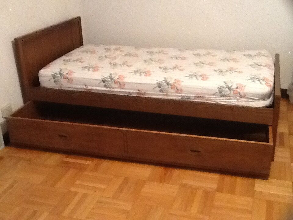 Trundle Bed Twin Size Ebay