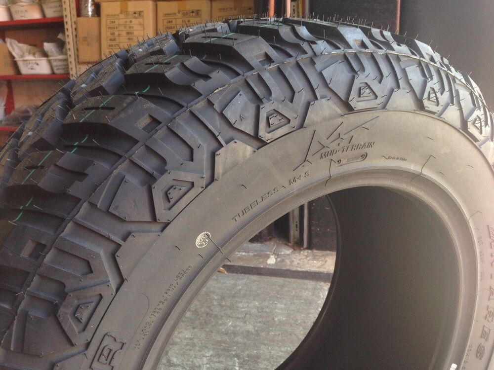 4 new 35 18 antares mud digger tires r18 mud terrain 35125018 ebay. Black Bedroom Furniture Sets. Home Design Ideas