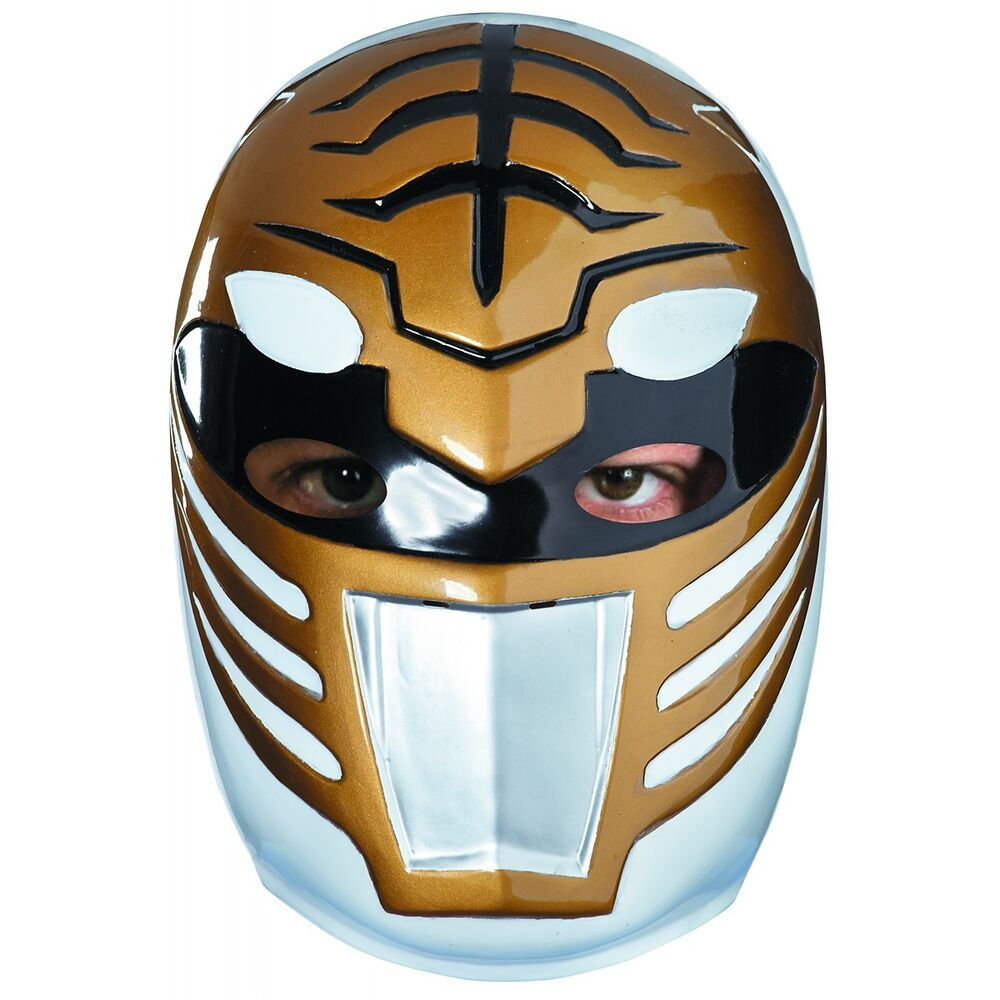 White ranger mask costume accessory adult mighty morphin - Masque de power rangers ...