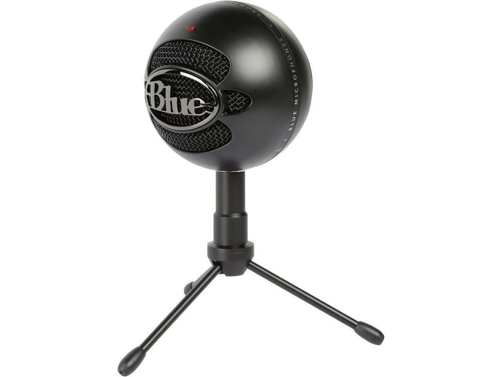 blue microphones snowball ice microphone black ebay. Black Bedroom Furniture Sets. Home Design Ideas