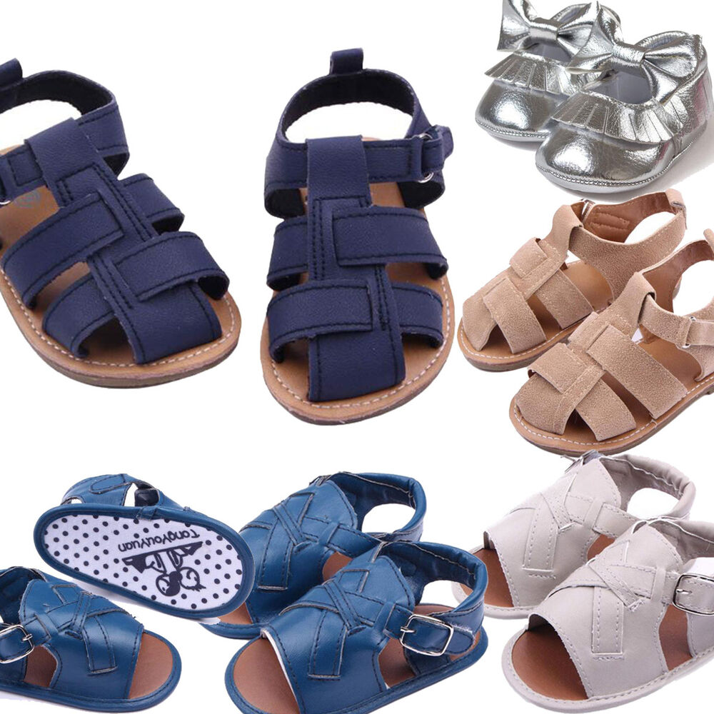Baby Boys Sandals Toddler Scrub First Walkers Kids Shoes ...