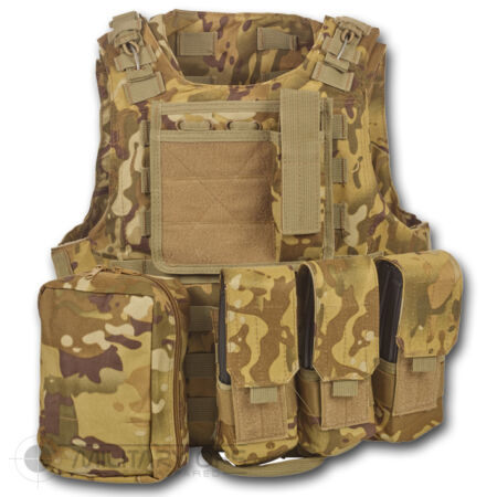 img-MTP MULTICAM FIRST AID MEDICS ASSAULT VEST BRITISH ARMY STYLE MILITARY