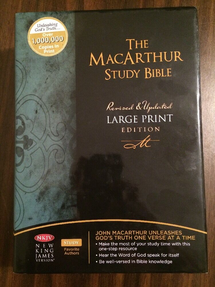 Macarthur study bible commentary