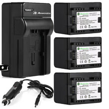 Decoded BP-727 Battery + Charger For Canon VIXIA HF R400 R700 R500 R300 R60 R42
