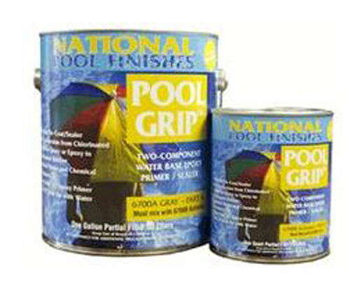 Pool grip water based epoxy primer sealer for swimming pools ebay for Epoxy coating for swimming pools