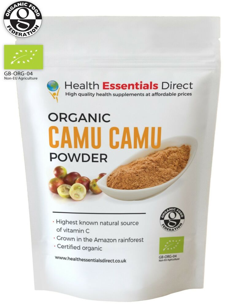 Organic Camu Camu Powder Natural Vitamin C Peruvian