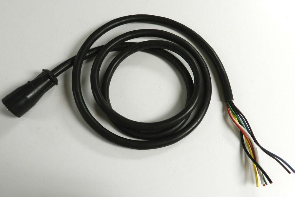 7 Way Molded 25 Foot Trailer Wire Light Plug Cord