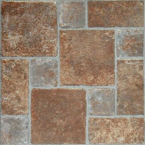 vinyl floor tiles self adhesive peel and stick stone