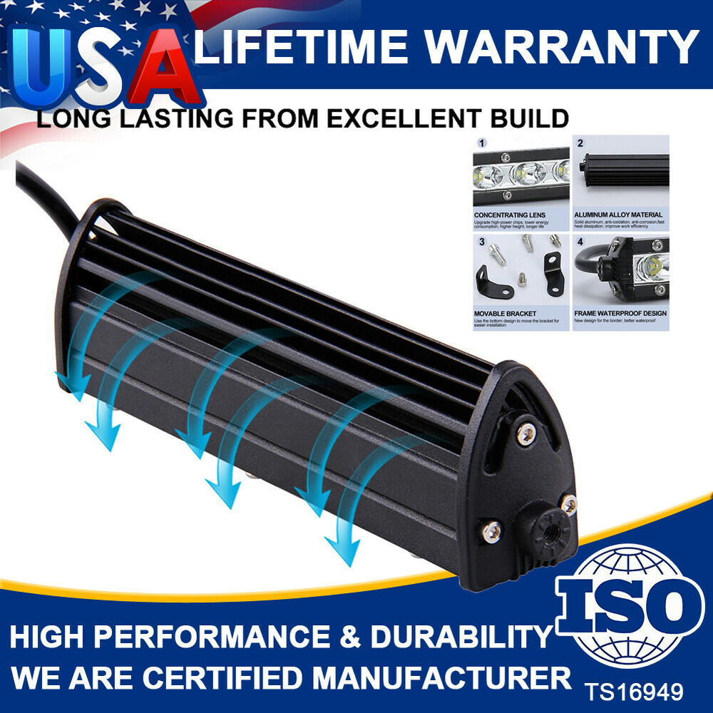 High Power 200w 20 Inch Jeep Accessories Led Light Bar For: 144W 22INCH CREE Led Light Bar Spot Flood Work Driving