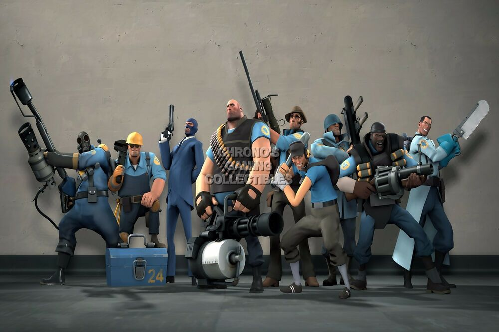 Team Fortress 2 Blue Team PS3 XBOX 360