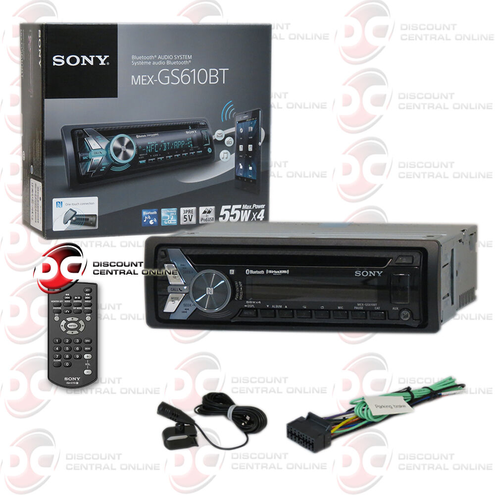 new sony mex gs610bt car cd mp3 usb bluetooth stereo ipod. Black Bedroom Furniture Sets. Home Design Ideas
