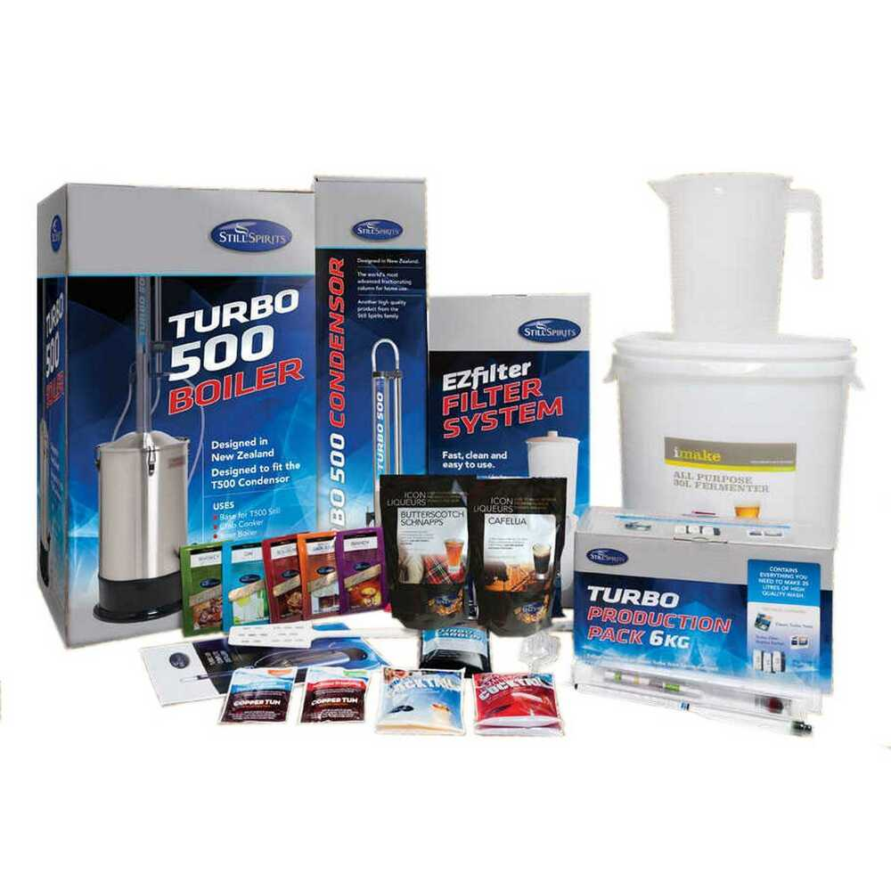 Still spirits turbo 500 t500 complete distillery boiler for Complete kit homes