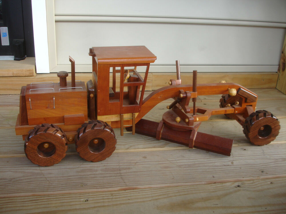 Wooden Construction Toys : Rare unique handcrafted barry e adam wood