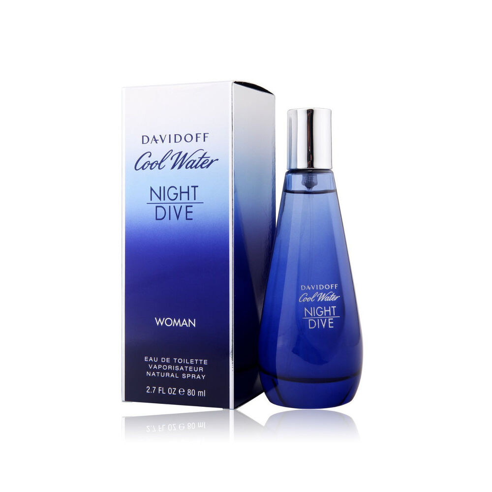 Cool water night dive by davidoff woman perfume edt 2 7 oz - Davidoff night dive ...