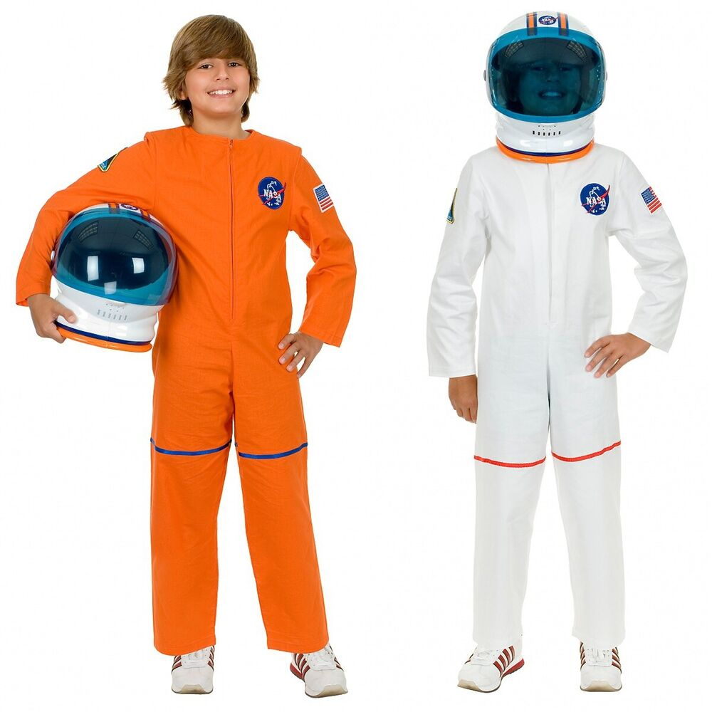 Astronaut Costume For Kids NASA Spaceman Jumpsuit
