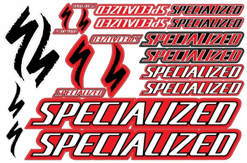 Specialized Bicycle Frame Decals Stickers Graphic Set