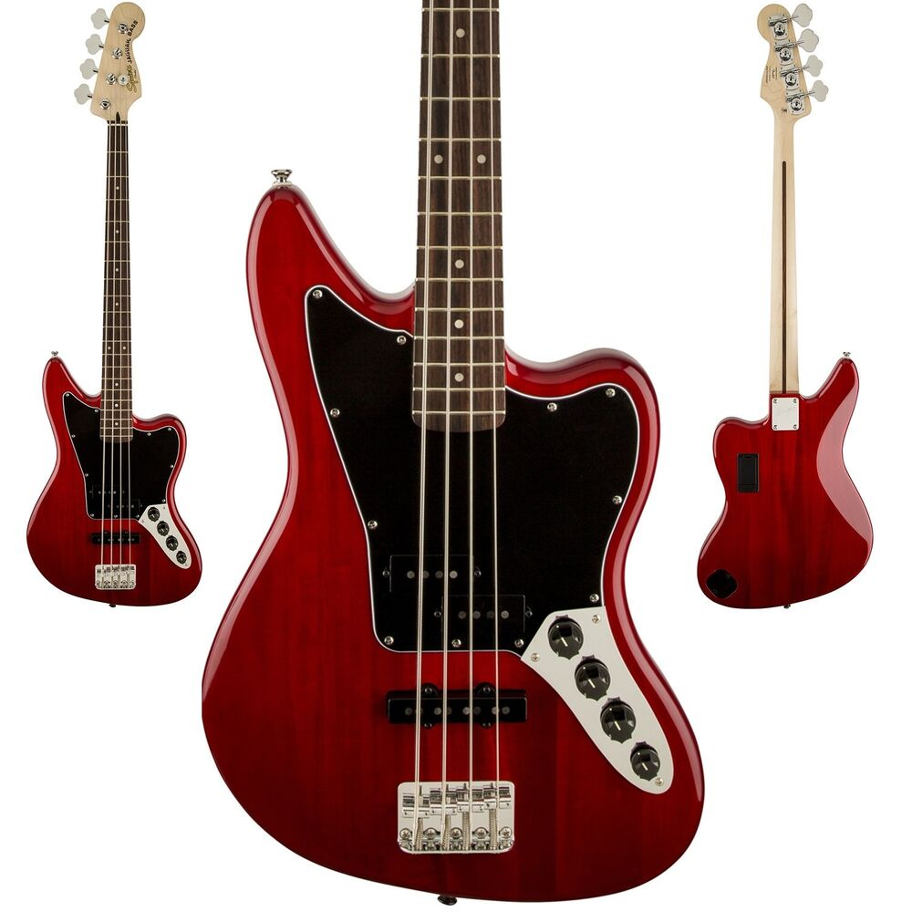 squier vintage modified jaguar bass guitar special crimson red. Cars Review. Best American Auto & Cars Review
