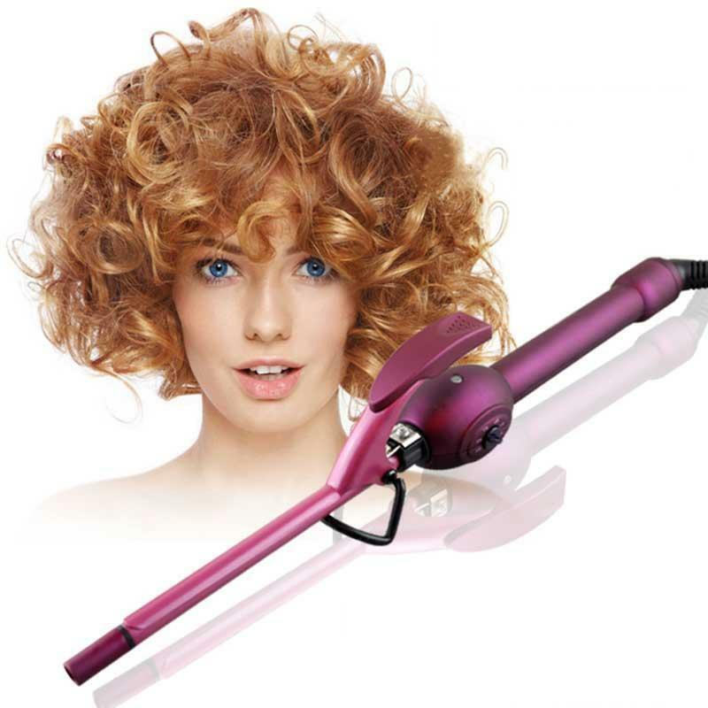 hair curler styles 9mm curling iron hair curler curling wand roller 6534