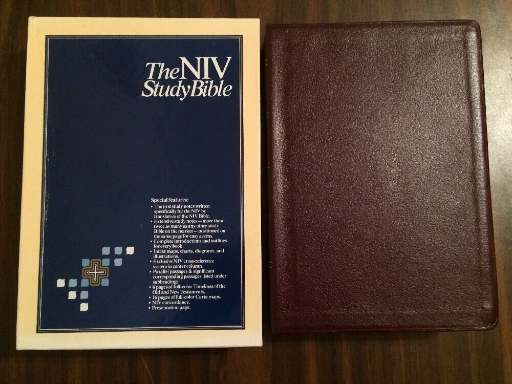 NIV Study Bible, Personal Size, Paperback, Red Letter ...