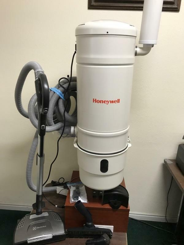 Honeywell Central Vacuum Power Canister Model H 703a With