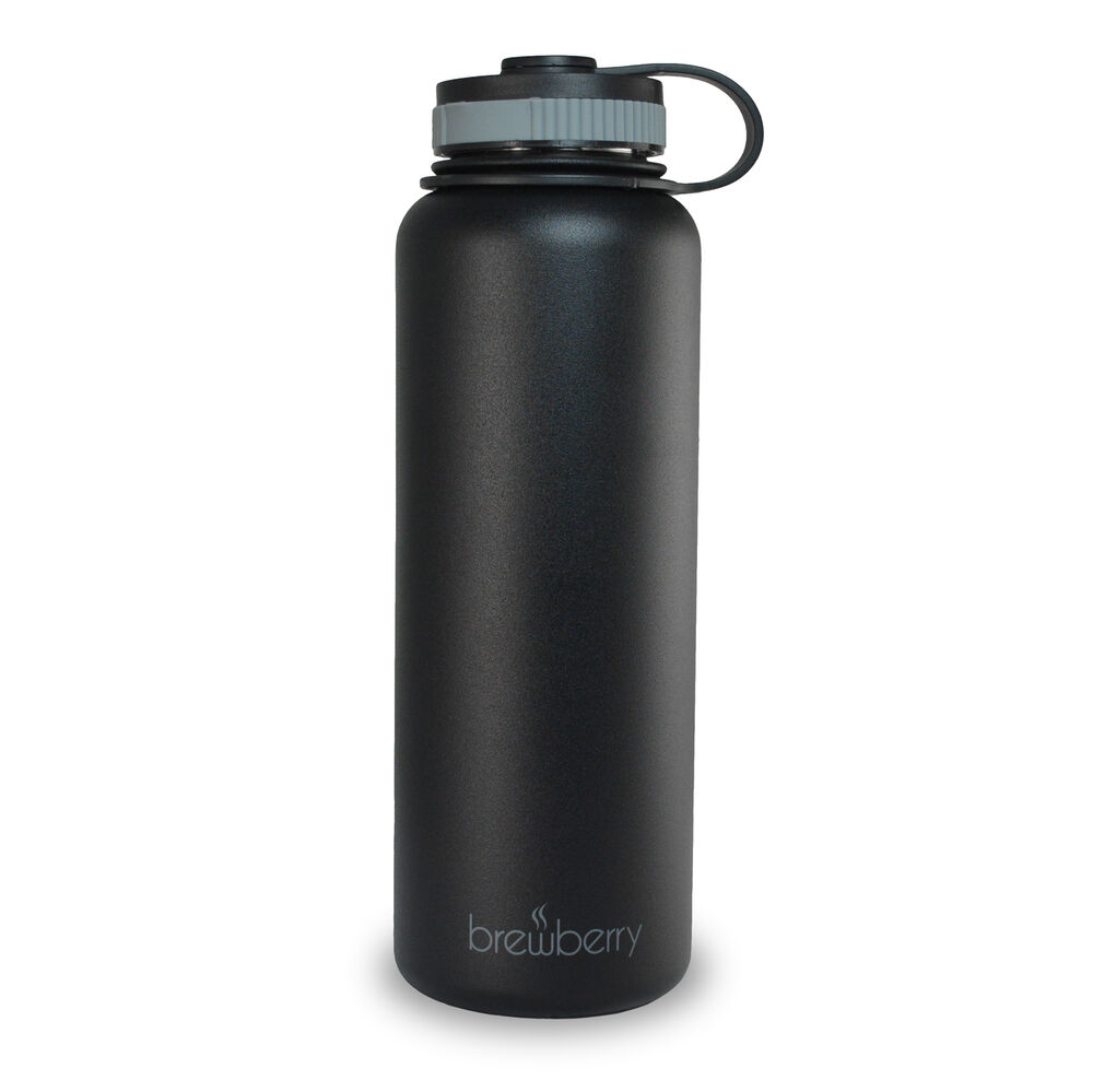 Brewberry Insulated Wide Mouth Stainless Steel Sports ...