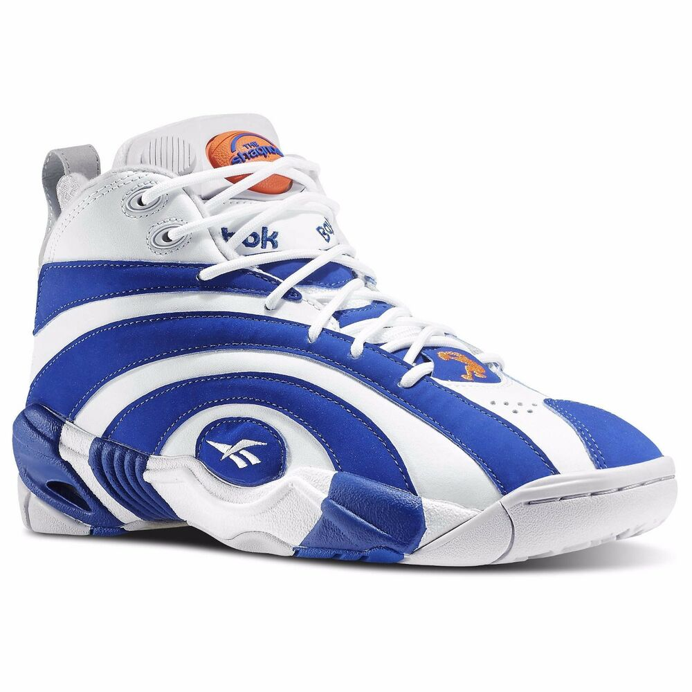 new men 39 s reebok pump shaqnosis m49243 white royal retro. Black Bedroom Furniture Sets. Home Design Ideas
