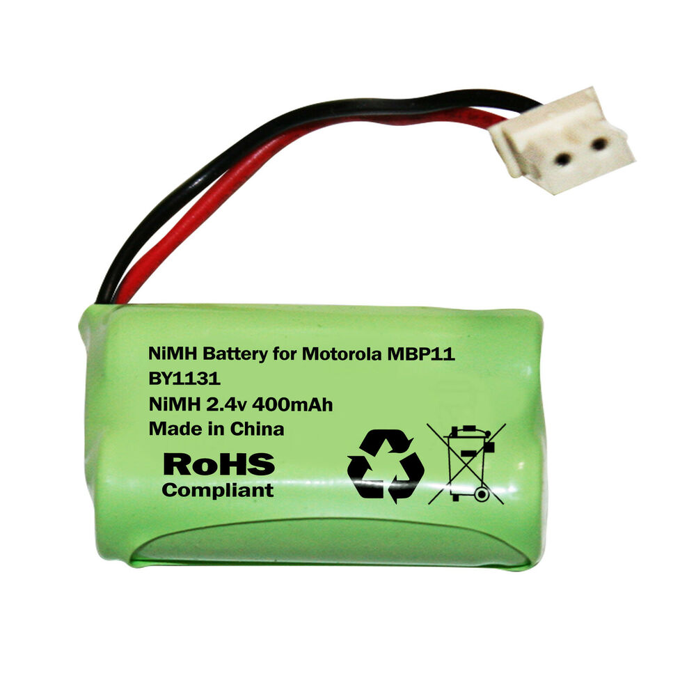motorola mbp11 baby monitor rechargeable battery pack by1131 400mah ebay. Black Bedroom Furniture Sets. Home Design Ideas